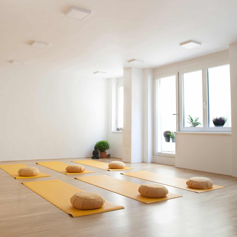 Vermietung Yogaraum
